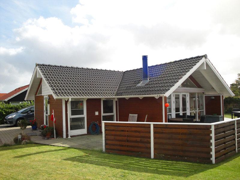 Nielsens Sommerhus außen