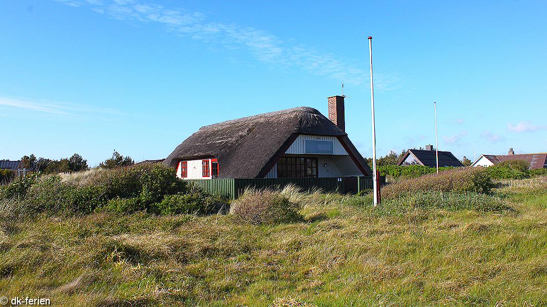Reetdach Hygge Haus außen
