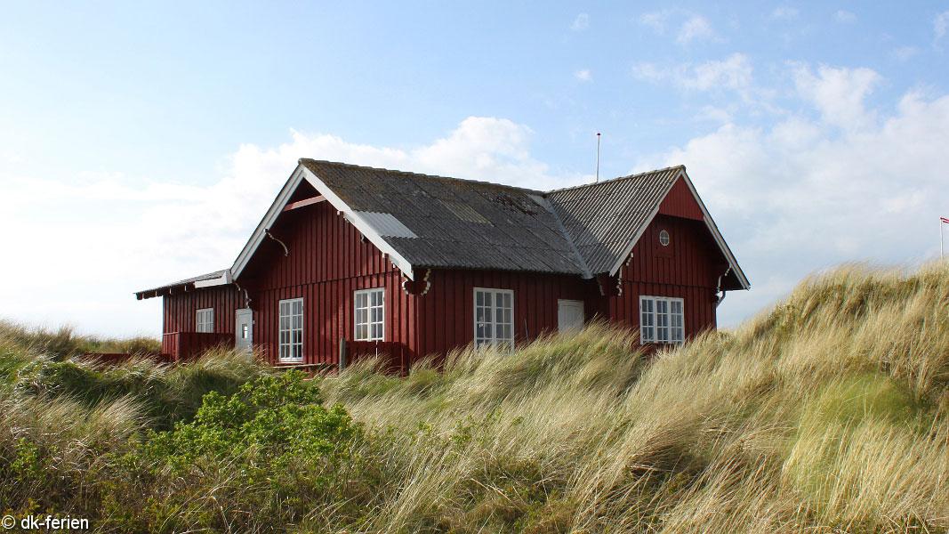 Lakolk Oldtidshus außen