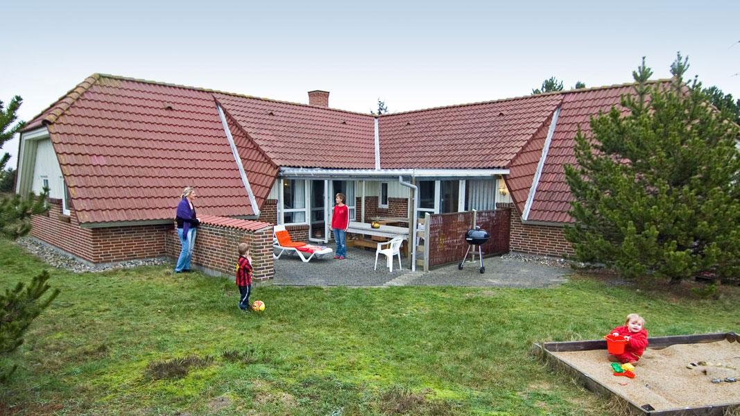 Sønderho Poolhus außen