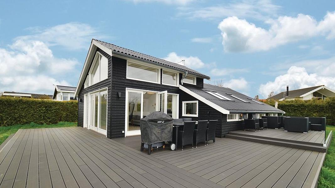 Hus Hygge på Bogø außen