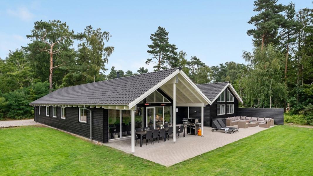 Hesselø Poolhus außen